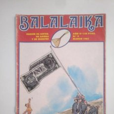 Otros: REVISTA BALALAIKA AÑO II Nº 9. AMAIKA, 1983. TDKC43. Lote 169410604