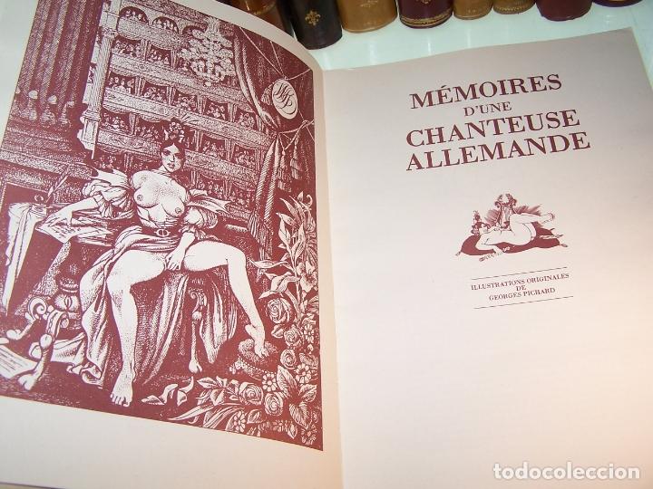 Otros: Mémoires duna chanteuse allemande. Illustrations originales Georges Pichard. Pornografía. Roma.1978 - Foto 2 - 170857235
