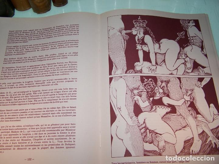Otros: Mémoires duna chanteuse allemande. Illustrations originales Georges Pichard. Pornografía. Roma.1978 - Foto 8 - 170857235