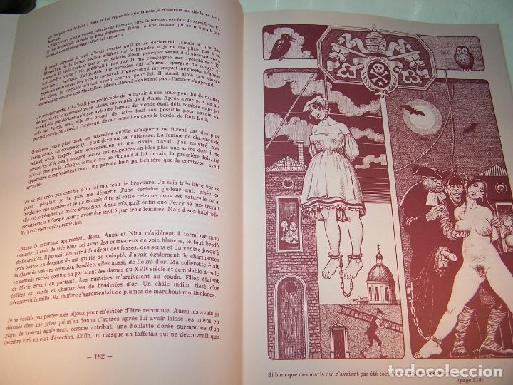 Otros: Mémoires duna chanteuse allemande. Illustrations originales Georges Pichard. Pornografía. Roma.1978 - Foto 9 - 170857235