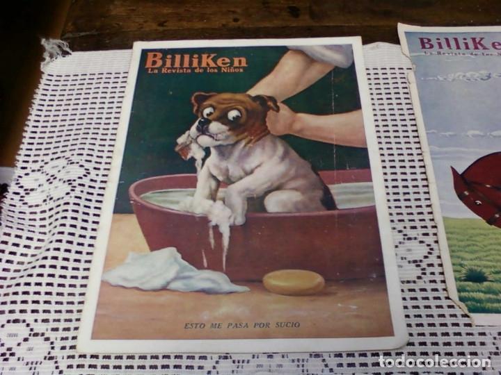 Otros: TRES HOJA DE LA REVISTA ARGENTINA BILLIKEN - Foto 2 - 172316169