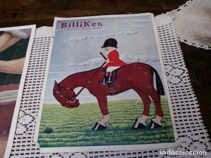 Otros: TRES HOJA DE LA REVISTA ARGENTINA BILLIKEN - Foto 3 - 172316169