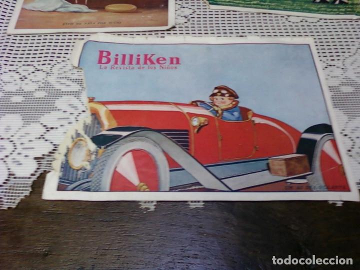 Otros: TRES HOJA DE LA REVISTA ARGENTINA BILLIKEN - Foto 4 - 172316169