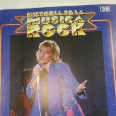 Otros: HISTORIA DE LA MUSICA ROCK N 38 PORTADA DE REVISTA. Lote 173492694