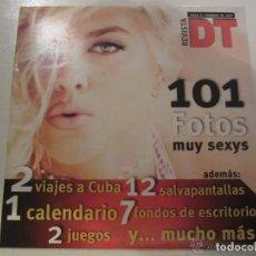 Otros: CDROM REVISTA DT 101 FOTOS MUY SEXYS -VER DETALLES EN FOTO. Lote 173592725