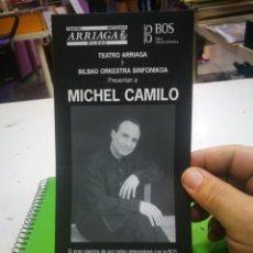 Otros: MICHEL CAMILO FOLLETO TEATRO ARRIAGA 2004. Lote 174261028