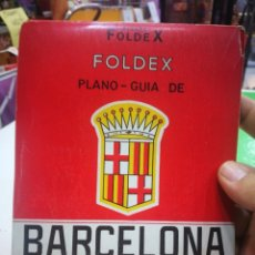 Otros: BARCELONA PLANO FOLDEX GUIA DE BARCELONA FOLDEX. Lote 174262444