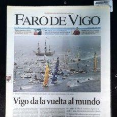 Otros: FARO DE VIGO 13/11/2005 VUELTA AL MUNDO VELA VOLVO. Lote 174271053