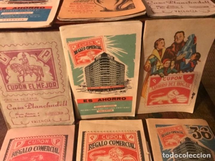 LOTE 9 CARTILLAS CUPONES REGALO COMERCIAL. AÑOS50S (Coleccionismo para Adultos - Otros)