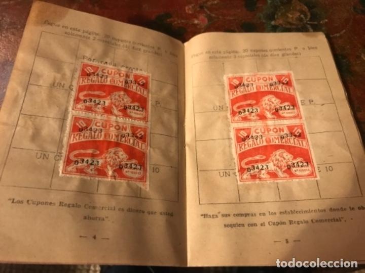 Otros: Lote 9 cartillas Cupones Regalo Comercial. Años50s - Foto 3 - 175235987