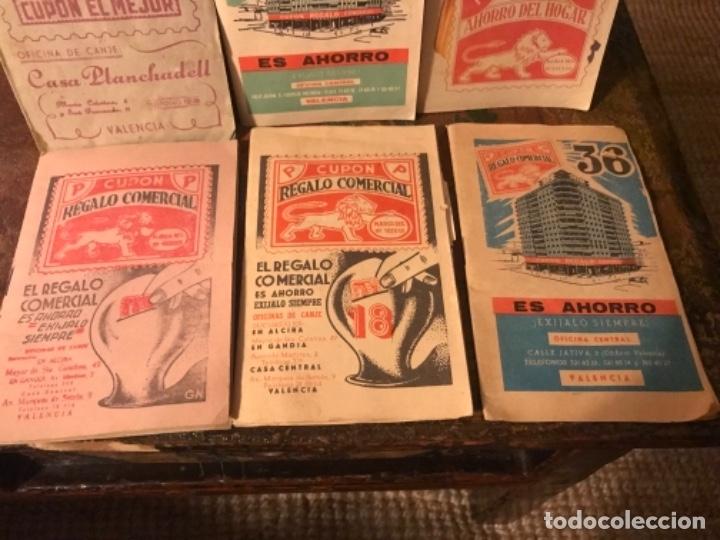 Otros: Lote 9 cartillas Cupones Regalo Comercial. Años50s - Foto 5 - 175235987