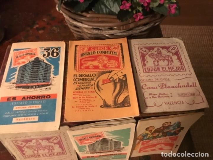 Otros: Lote 9 cartillas Cupones Regalo Comercial. Años50s - Foto 6 - 175235987