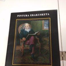 Otros: PINTURA ERAKUSKETA / J.M.ISASA 25 PAGINAS CON CUADROS TXANTXILLO. Lote 176699229