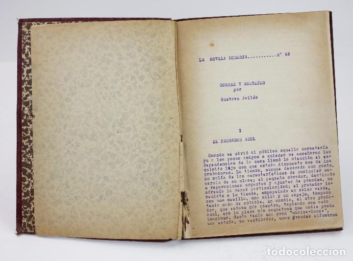 Otros: Erotismo, Autopublicación mecanografiada con cuentos eróticos y 2 dibujos originales en tinta. 1930s - Foto 3 - 178564723