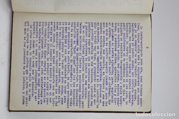 Otros: Erotismo, Autopublicación mecanografiada con cuentos eróticos y 2 dibujos originales en tinta. 1930s - Foto 5 - 178564723