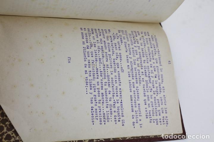 Otros: Erotismo, Autopublicación mecanografiada con cuentos eróticos y 2 dibujos originales en tinta. 1930s - Foto 6 - 178564723