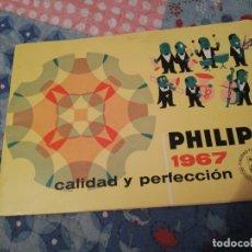 Otros: CATÁLOGO PHILIPS 1967. Lote 183281338