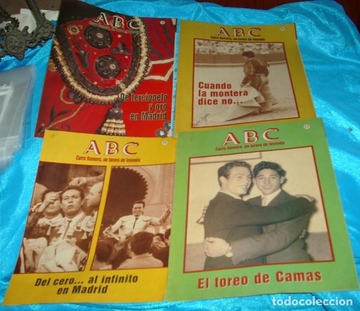 CURRO ROMERO UN TORERO DE LEYENDA LOTE DE 5 FASCICULOS--LEER - VER (Coleccionismo para Adultos - Otros)