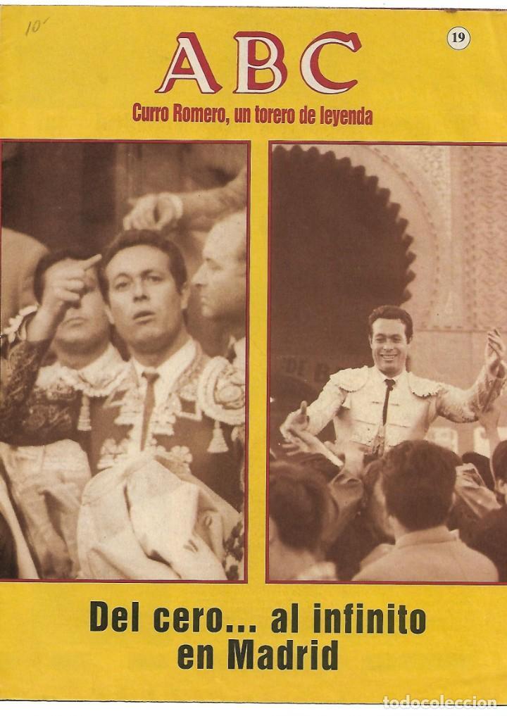 Otros: CURRO ROMERO UN TORERO DE LEYENDA LOTE DE 5 FASCICULOS--LEER - VER - Foto 2 - 183911088