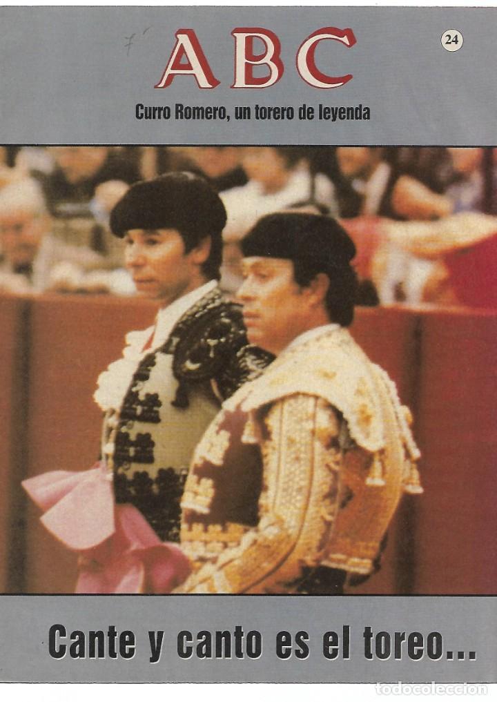 Otros: CURRO ROMERO UN TORERO DE LEYENDA LOTE DE 5 FASCICULOS--LEER - VER - Foto 3 - 183911088