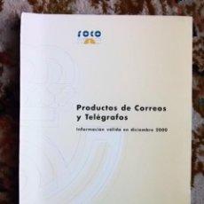 Autres: CORREOS Y TELÉGRAFOS - PRODUCTOS DE CORREOS Y TELÉGRAFOS, AÑO 2000.. Lote 184792420