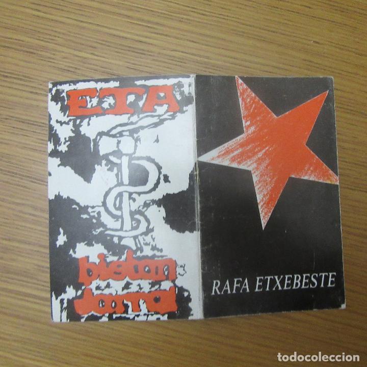 Otros: recordatorio muerto organizacion terrorista eta, transicion euskadi pais vasco - Foto 2 - 189177012