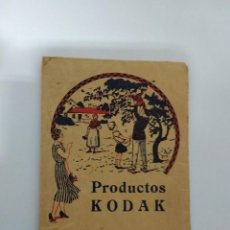 Otros: ANTIGUO PORTA FOTOS PRODUCTOS KODAK / L.PEDROSA C/ EASO 2 SAN SEBASTIAN TEF 11-8-77. Lote 190880115