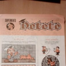 Otros: SUPLEMENTO PETETE. Lote 190989742