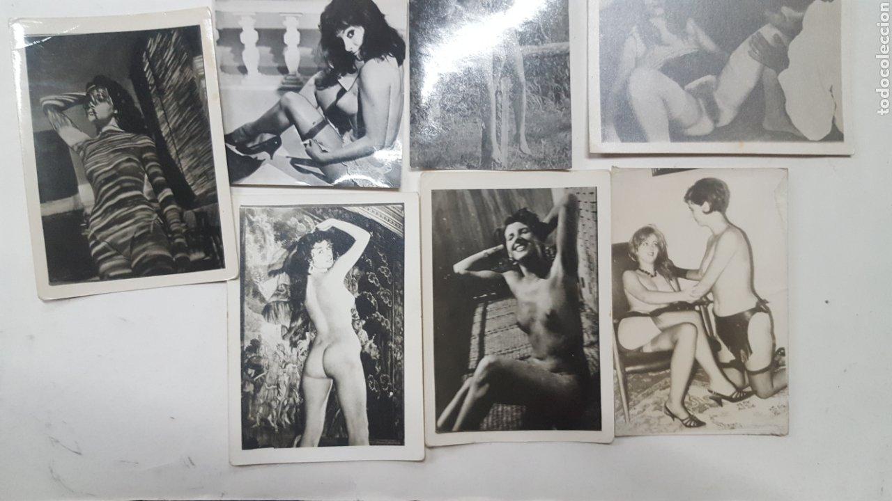 Otros: EROTICA PORNOGRAFIA: LOTE 17 FOTOGRAFIAS ANTIGUAS DESNUDOS FEMENINOS DE UNOS 10X8 CMS - Foto 2 - 191913457
