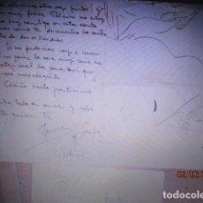 Otros: CARTA MANUSCRITO JAUME DE SACLS ARACIL FAMOSO CERAMISTA DE VALENCIA SOT 1941FIRMADA. Lote 96457347