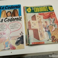 Otros: LA CODORNIZ / LOTE CON 17 NUMEROS / 1972 - 1977. Lote 192341578