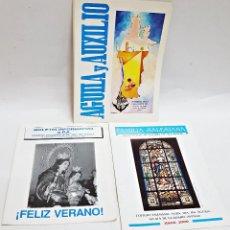 Otros: REVISTA Y 2 BOLETINES INFOR. DE C.SALESIANO DE ALCALÁ DE GUADAÍRA.. Lote 193180941