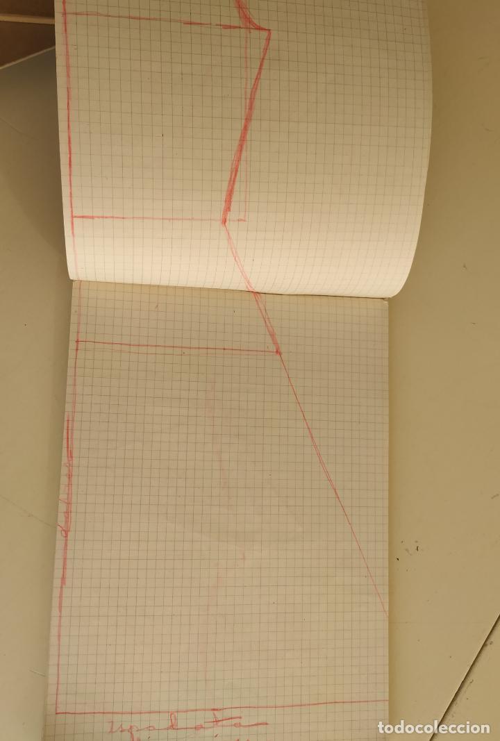Otros: Antiguo cuaderno cuadros horizontal. Grapa - Foto 3 - 193289450