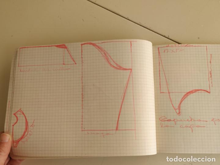 Otros: Antiguo cuaderno cuadros horizontal. Grapa - Foto 4 - 193289450