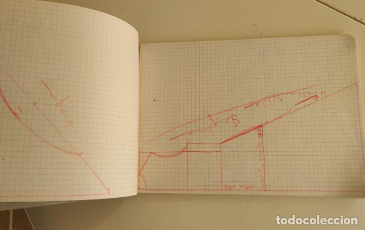 Otros: Antiguo cuaderno cuadros horizontal. Grapa - Foto 5 - 193289450