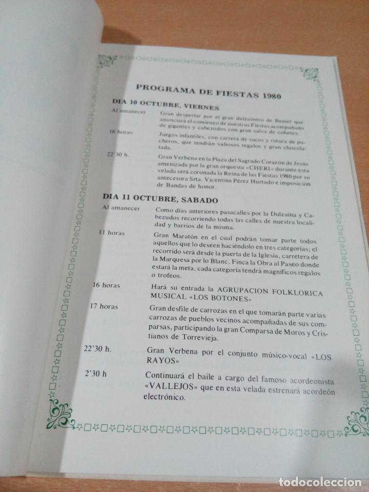 Otros: revista programa fiestas los Montesinos - Alicante 1980 - buen estado - ver fotos - Foto 5 - 194108963