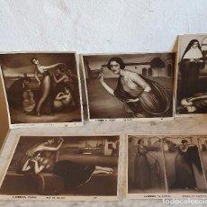 Otros: LOTE DE 5 LAMINAS NUMERADAS DE JULIO ROMERO DE TORRES. Lote 194119523