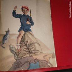 Otros: LAMINA LAS GALOPADAS DE CARLOS SÁENZ DE TEJADA AÑO 1938. Lote 194862877