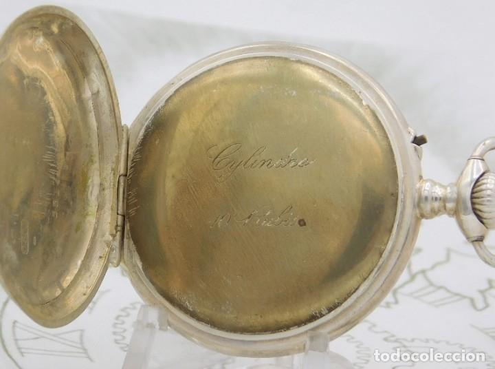 Otros: RELOJ DE BOLSILLO AUTOMATA-ERÓTICO-PINTADO A MANO-CIRCA 1880-1890-FUNCIONANDO - Foto 5 - 195666458