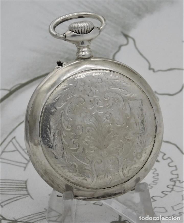 Otros: RELOJ DE BOLSILLO AUTOMATA-ERÓTICO-PINTADO A MANO-CIRCA 1880-1890-FUNCIONANDO - Foto 9 - 195666458