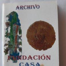 Otros: ARCHIVO FUNDACIÓN CASA MEDINA SIDONIA. CUADERNOS Nº2. SAN LUCAR DE BARRAMEDA. 2003.. Lote 198513222