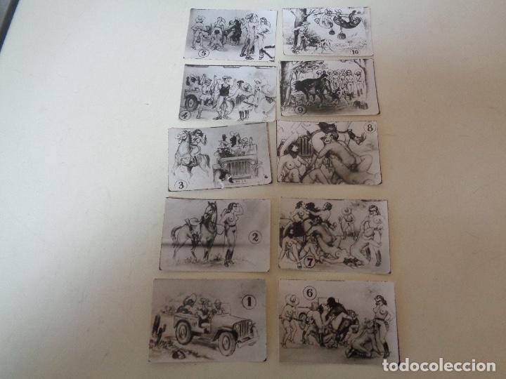 Otros: 10 fotocromo erotico militar serie completa - Foto 2 - 221289705
