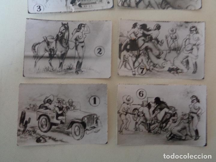 Otros: 10 fotocromo erotico militar serie completa - Foto 3 - 221289705