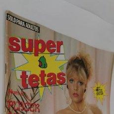 Otros: REVISTA SUPER TETAS-AÑO II-Nº 11-PECHOS GRANDES-EROTICA-1987. Lote 224649468