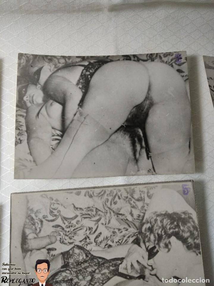"""Otros: COLECCIÓN 17 FOTOS PORNOGRÁFICAS (NUMERADAS) """"UN TRIÁNGULO"""" - AÑOS 50 - Foto 3 - 230804975"""