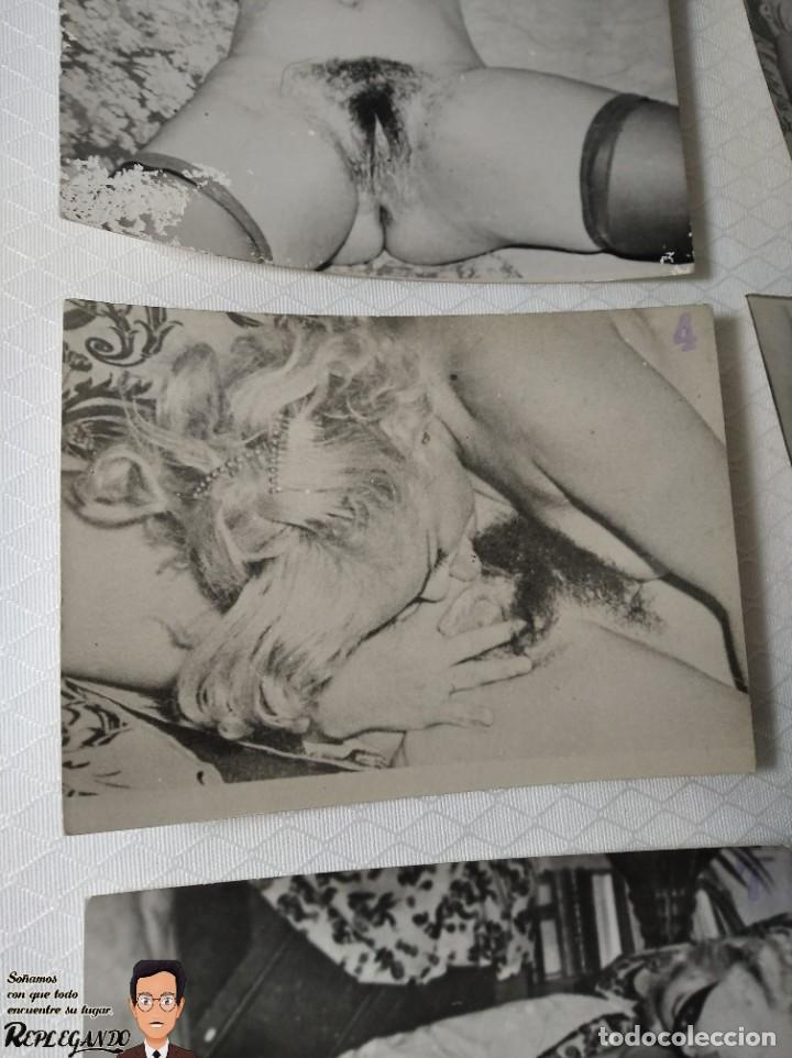 """Otros: COLECCIÓN 17 FOTOS PORNOGRÁFICAS (NUMERADAS) """"UN TRIÁNGULO"""" - AÑOS 50 - Foto 5 - 230804975"""