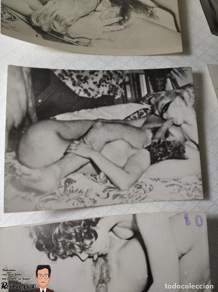 """Otros: COLECCIÓN 17 FOTOS PORNOGRÁFICAS (NUMERADAS) """"UN TRIÁNGULO"""" - AÑOS 50 - Foto 8 - 230804975"""