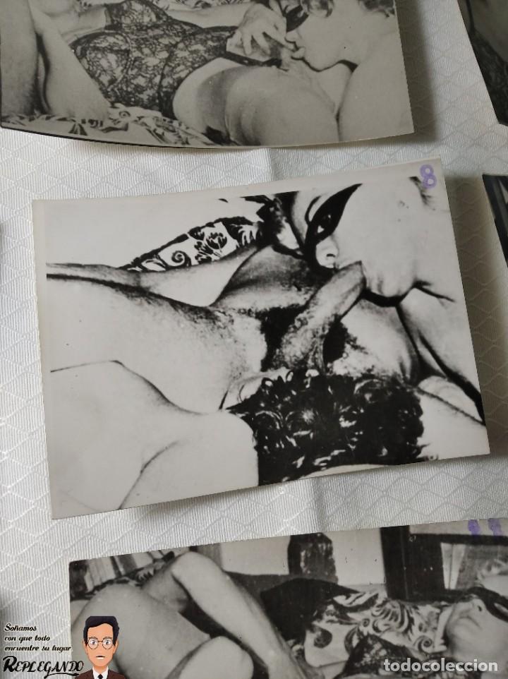 """Otros: COLECCIÓN 17 FOTOS PORNOGRÁFICAS (NUMERADAS) """"UN TRIÁNGULO"""" - AÑOS 50 - Foto 9 - 230804975"""