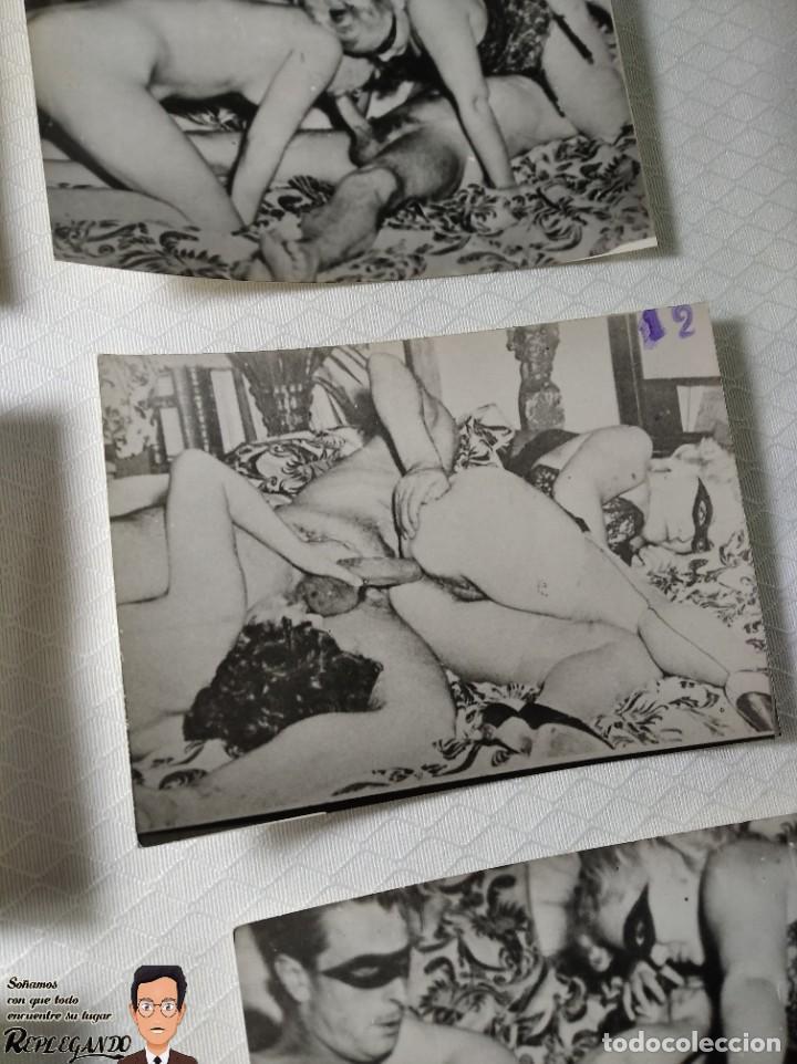 """Otros: COLECCIÓN 17 FOTOS PORNOGRÁFICAS (NUMERADAS) """"UN TRIÁNGULO"""" - AÑOS 50 - Foto 13 - 230804975"""