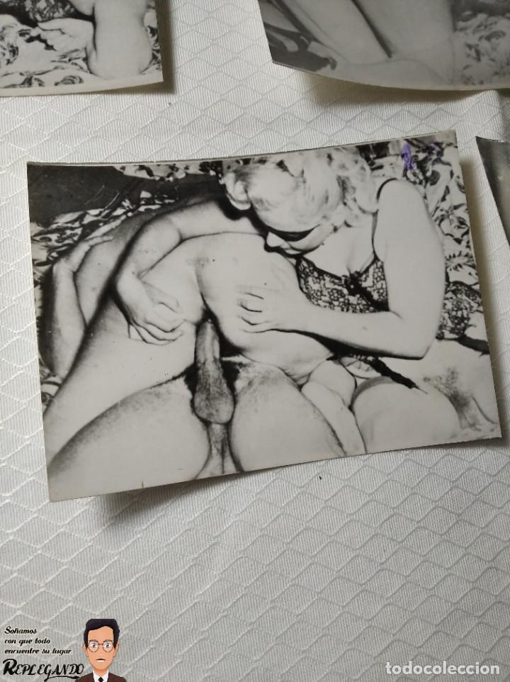 """Otros: COLECCIÓN 17 FOTOS PORNOGRÁFICAS (NUMERADAS) """"UN TRIÁNGULO"""" - AÑOS 50 - Foto 17 - 230804975"""